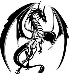 20f0f87bd41b1 Dragon Drawings Black And White | Free download best Dragon Drawings ...