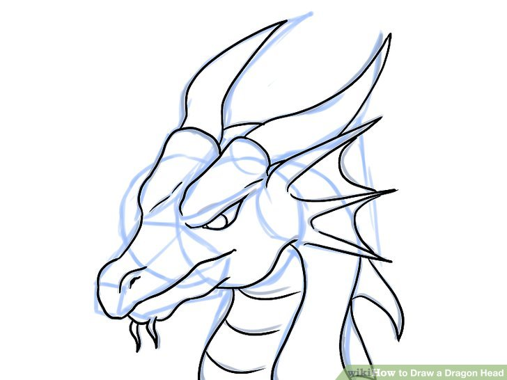 728x546 Dragon Drawing