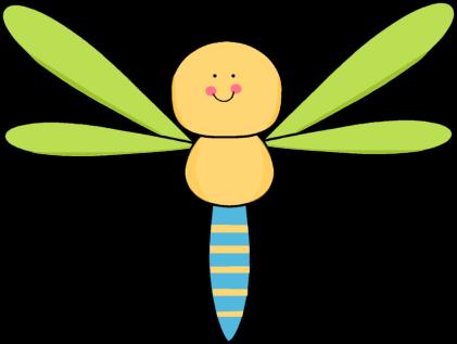 421x317 Cute Dragonfly Clip Art Image Clipart Panda