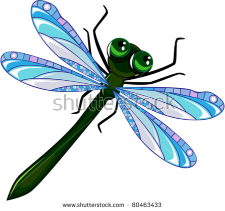 450x423 Dragonfly Clipart Artistic