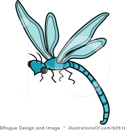 400x420 Dragonfly Clipart Line Art