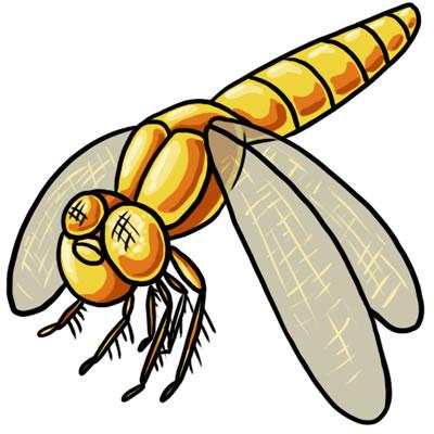400x400 Free Dragonfly Clip Art 4
