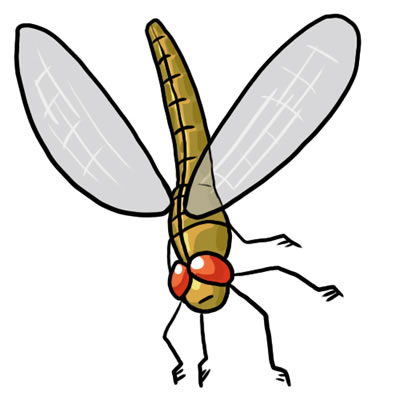 400x400 Free Dragonfly Clip Art Clipart Clipart