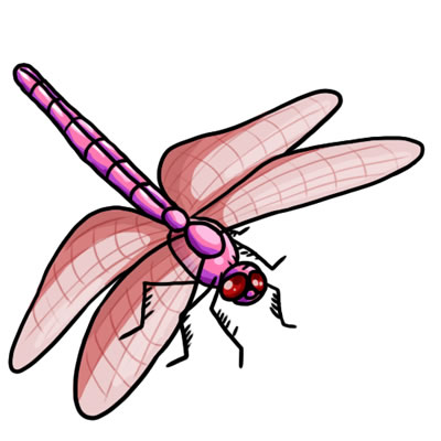 400x400 50 Free Dragonfly Clip Art 21
