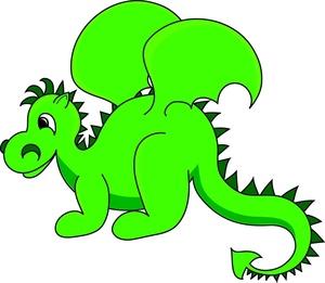 300x261 Dragon Cliparts
