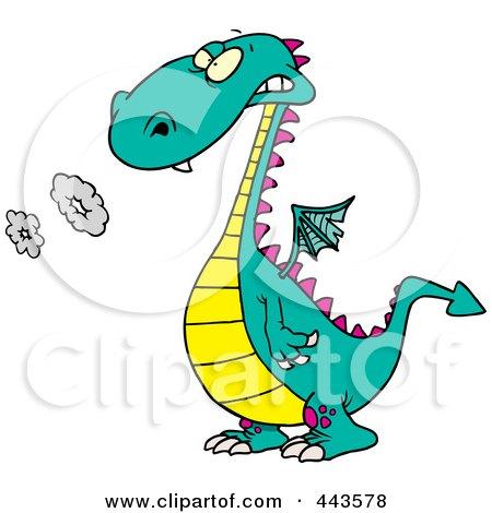 450x470 Royalty Free (Rf) Clip Art Illustration Of A Cartoon Doctor Dragon