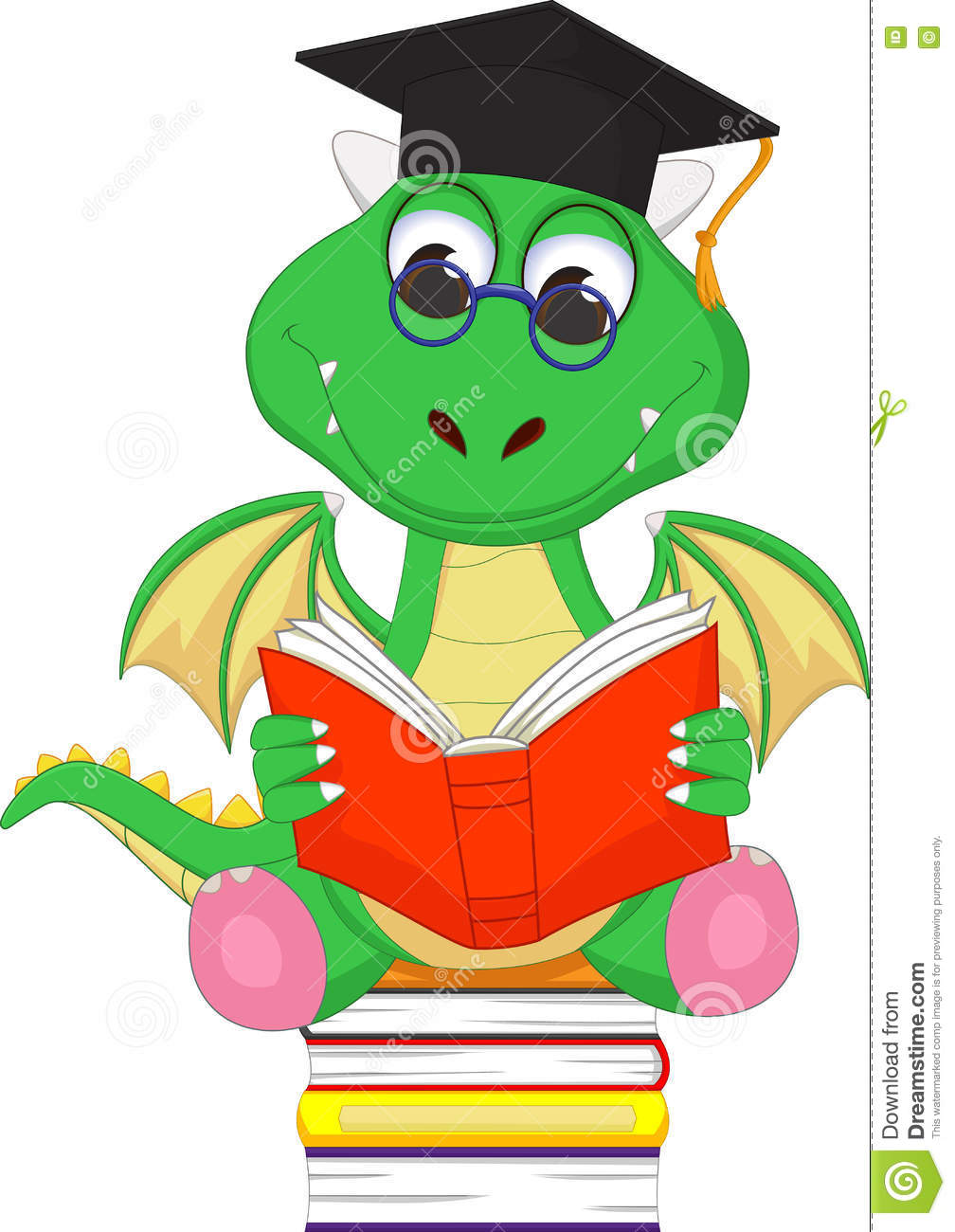 1008x1300 Dragon Clipart Reading