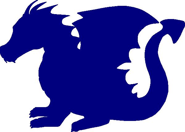 600x430 Blue Dragon Clip Art