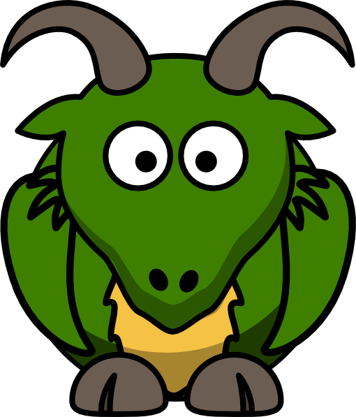 510x597 Green Dragon Clip Art