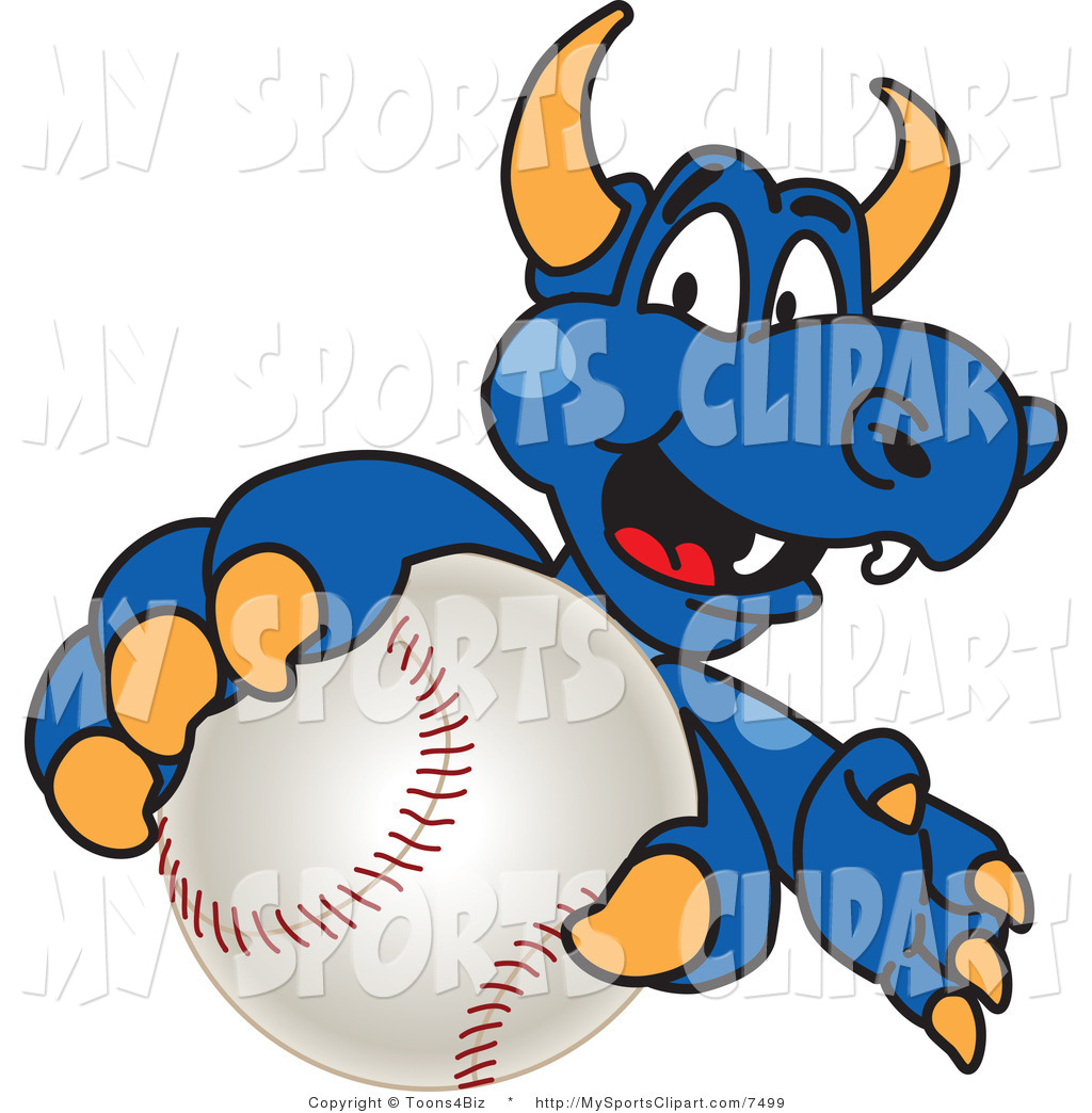 1024x1044 Sports Clip Art Of A Dragon Mascot Holding A Baseball By Toons4biz