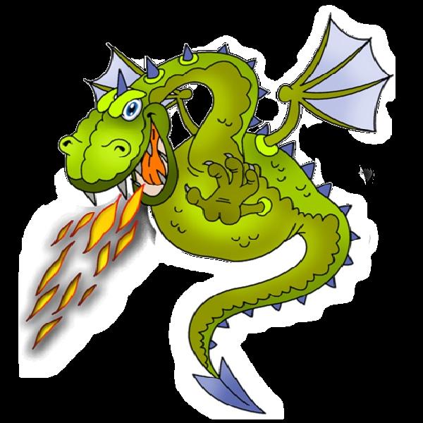 600x600 Dragon Clip Art