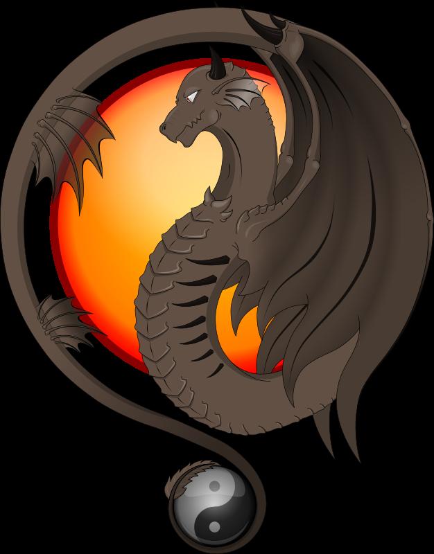 626x800 Dragon Clip Art