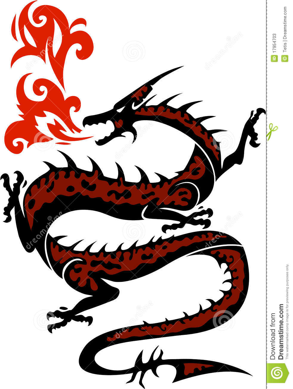 982x1300 Chinese Dragon Clipart Fire Breathing Dragon