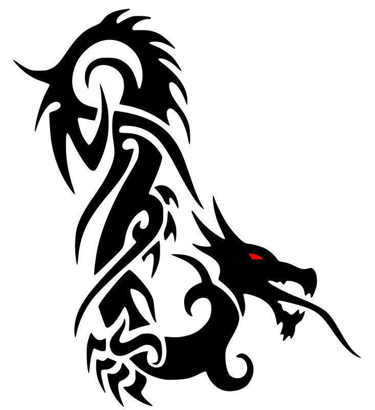 733x800 Clipart Dragon Clipartmonk