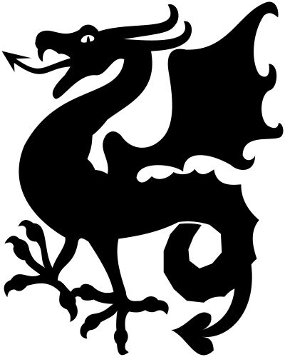 Dragon Silhouette Images