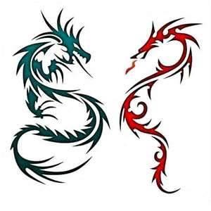 300x300 Dragon Tattoos Designs Dragons Dragon Tattoo