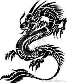 236x290 simple tattoo dragon tattoo by ~Rakhel on deviantART To Do