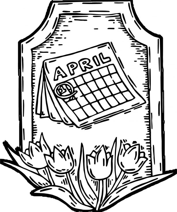 615x735 Coloring Pages Kids Beautiful Spring Coloring Pages With Rainy