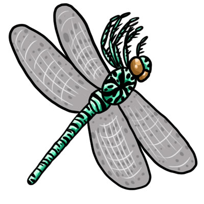 400x400 Free Dragonfly Clip Art Clipart Cliparts For You