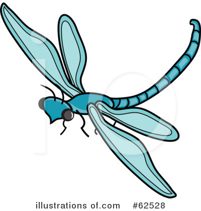 400x420 Whimsical Dragonfly Clipart