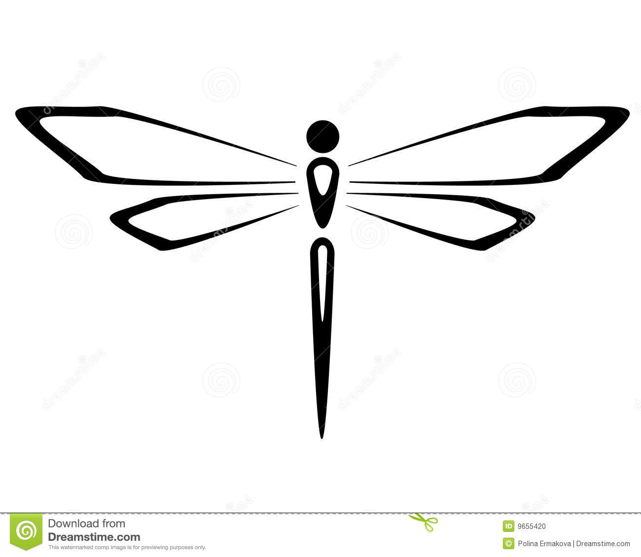 1300x1130 Black And White Dragonfly Clipart Panda