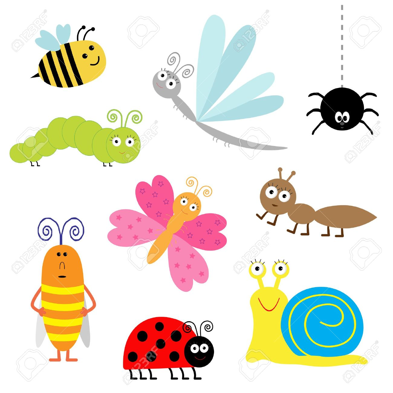 1300x1300 Butterfly Clipart Dragonfly