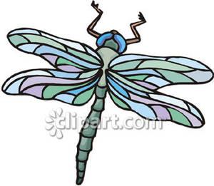 300x261 Dragonfly Clip Art