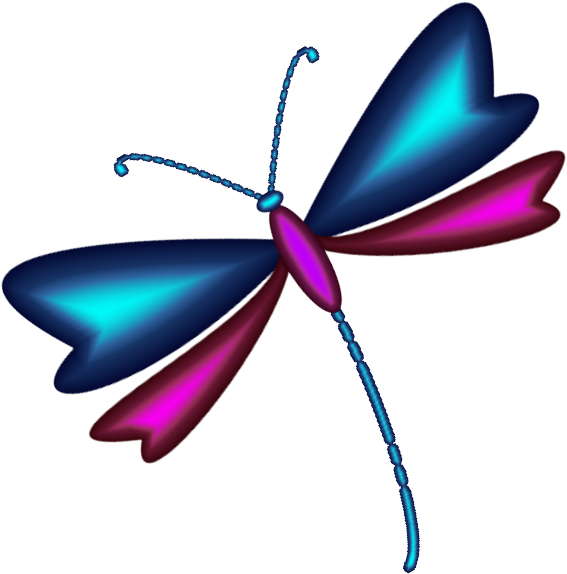 567x574 Animated Dragonfly Pictures Group