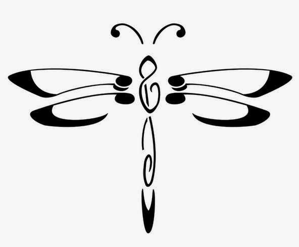 Dragonfly Outline Free Download Best Dragonfly Outline On