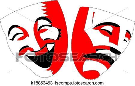450x287 Drama Masks Clip Art Vector Graphics. 1,410 Drama Masks Eps
