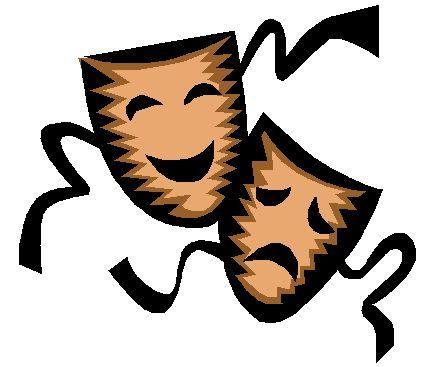 Drama Masks Clipart