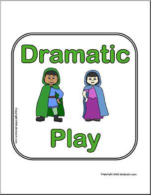 304x392 Center Sign Dramatic Play Abcteach