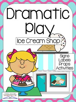 263x350 Ice Cream Shop Dramatic Play Center Tpt