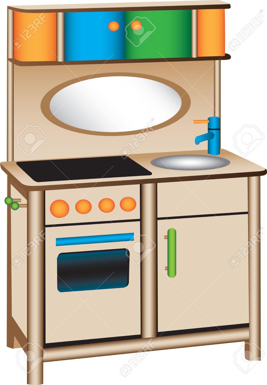 903x1300 Kitchen Clipart Kitchen Play