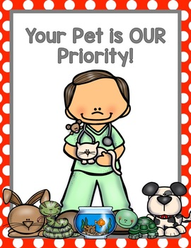 270x350 Vet Clinic Dramatic Play By Teach Prek Teachers Pay Teachers