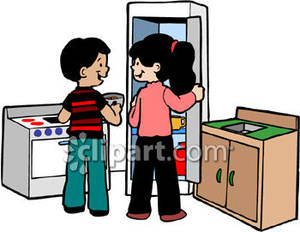 300x232 Area Clipart Kitchen Play