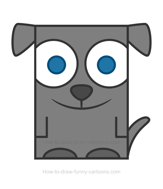 520x604 How To Draw An Dog Clip Art Cliparts