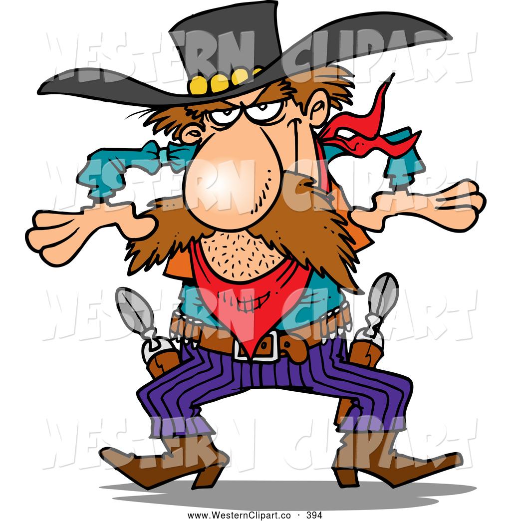 1024x1044 Vector Western Clip Art Of A Western Gunslinger Cowboy Ready