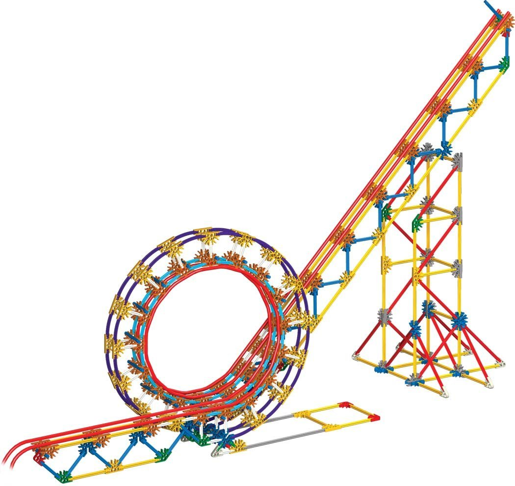 1050x990 K'Nex Education Roller Coaster Physics, Building Sets