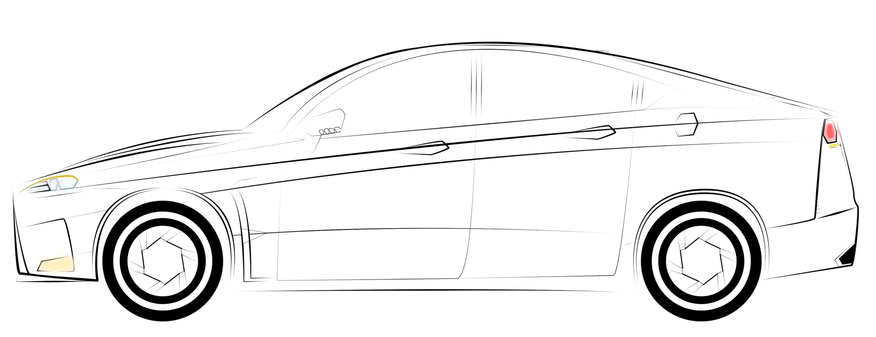 1769x681 Drawing Cars