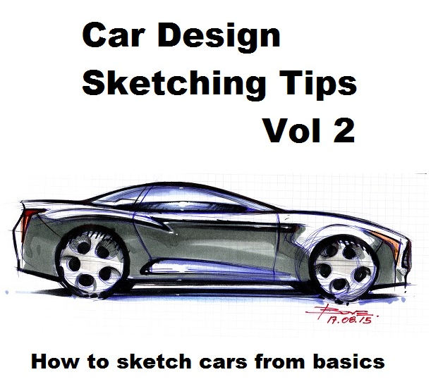 611x545 Drawing Wheels In Perspective. Car Sketching Tips. Www