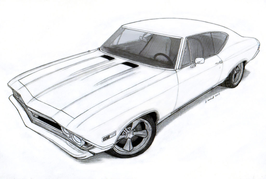 1024x688 How To Draw A Car Online Drawing Lessons