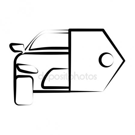 450x450 Hand Drawing Car Key Sketch Stock Vector Djv