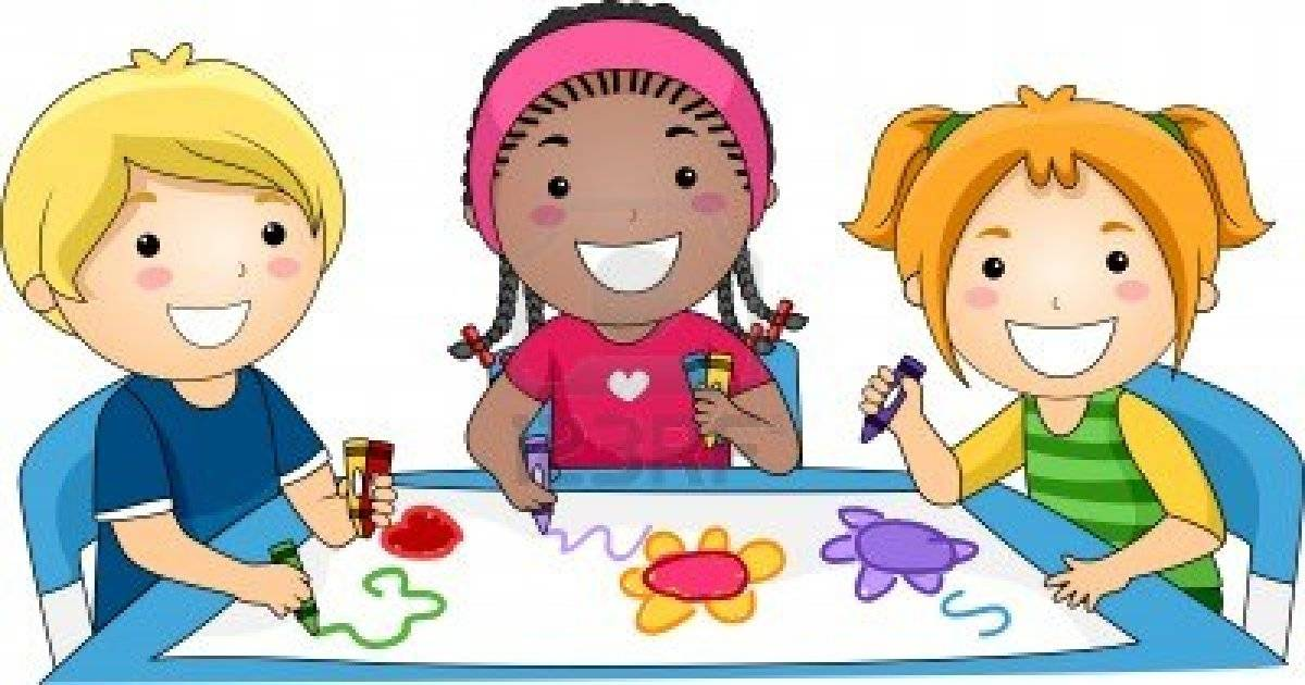 1200x630 Kids drawing clip art