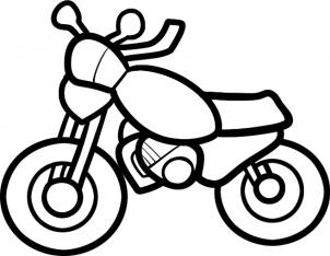 302x234 How To Draw How To Draw A Motorcycle For Kids
