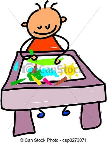 352x470 Kid Drawn Clipart