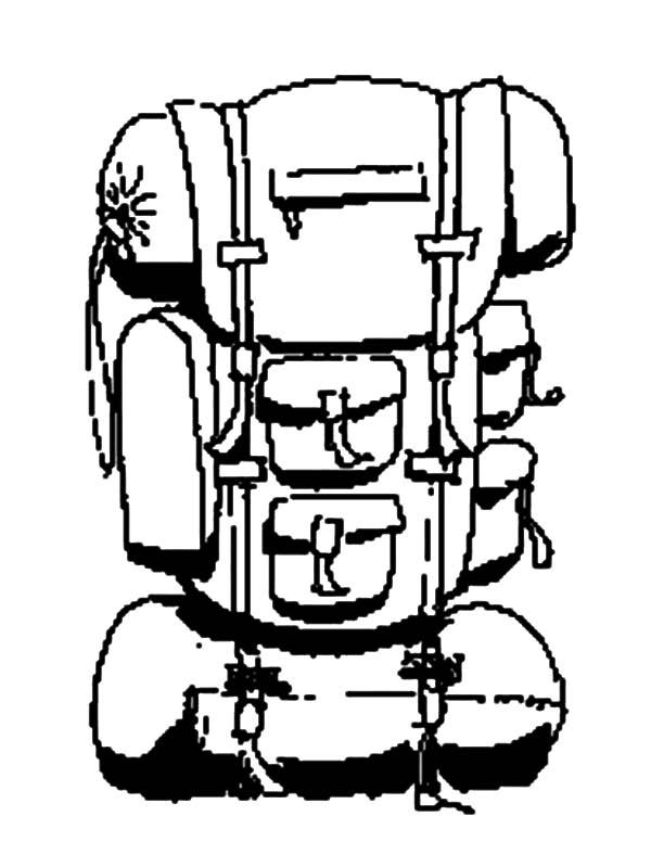 600x788 Camping Backpack Netart
