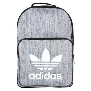 300x300 New Mens Adidas Grey Melange Polyester Backpack Backpacks Ebay