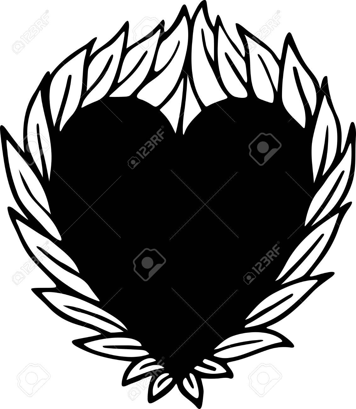 1131x1300 Simple Drawing Heart Picture How Examples Of Threats In A Swot