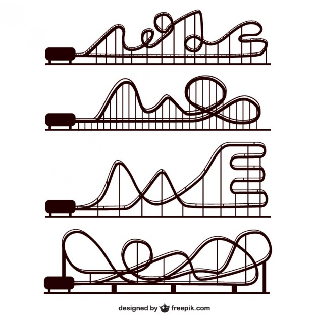 626x626 Rollercoaster Vectors, Photos And Psd Files Free Download